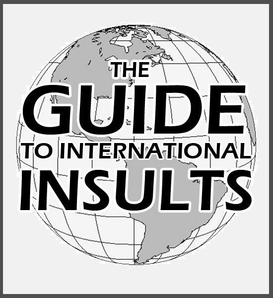 The Comprehensive Guide to International Insults